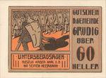 Austria, 60 Heller, FS 290a
