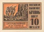Austria, 10 Heller, FS 290a