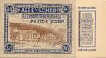 Austria, 80 Heller, FS 376II