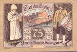 Austria, 75 Heller, FS 412Ia