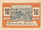 Austria, 10 Heller, FS 428c