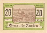 Austria, 20 Heller, FS 428c