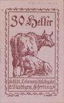Austria, 30 Heller, FS 152Vm