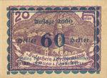 Austria, 60 Heller, FS 506IcD