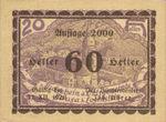 Austria, 60 Heller, FS 506IcF