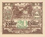 Austria, 20 Heller, FS 694a