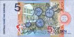 Suriname, 5 Gulden, P-0146