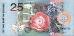 Suriname, 25 Gulden, P-0148