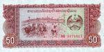 Laos, 50 Kip, P-0029a v2,B505b