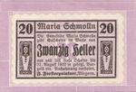 Austria, 20 Heller, FS 587Ia