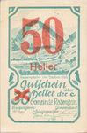 Austria, 50 Heller, FS 808SSIIe
