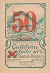 Austria, 50 Heller, FS 808SSIIf
