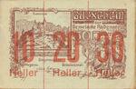 Austria, 60 Heller, FS 808SSIIf