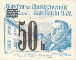 Austria, 50 Heller, FS 808SSIIg