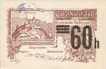 Austria, 60 Heller, FS 808SSIIg