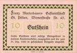 Austria, 10 Heller, FS 931a
