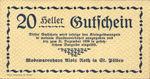 Austria, 20 Heller, FS 933IIIa