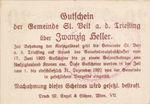Austria, 20 Heller, FS 943e