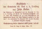 Austria, 10 Heller, FS 943f