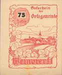 Austria, 75 Heller, FS 1150Ic