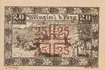 Austria, 20 Heller, FS 1152IIc