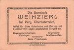 Austria, 50 Heller, FS 1152IIe