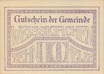 Austria, 10 Heller, FS 1160