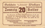 Austria, 20 Heller, FS 1246c