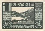 Austria, 1 Krone, FS 1207a