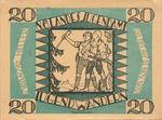 Austria, 20 Heller, FS 1207c