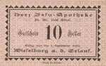 Austria, 10 Heller, FS 1232a