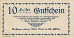 Austria, 10 Heller, FS 933IIIa