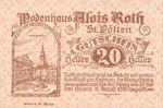Austria, 20 Heller, FS 933I