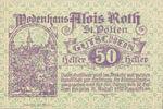 Austria, 50 Heller, FS 933I