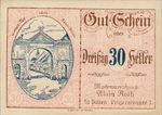 Austria, 30 Heller, FS 933II