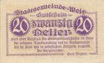 Austria, 20 Heller, FS 1167Ic