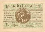 Austria, 10 Heller, FS 1124a