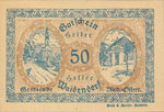 Austria, 50 Heller, FS 1124b