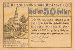 Austria, 50 Heller, FS 1135a