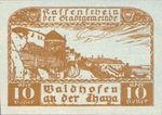 Austria, 10 Heller, FS 1125IIa