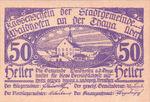 Austria, 50 Heller, FS 1125IIa