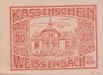 Austria, 20 Heller, FS 1156Ca