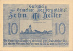 Austria, 10 Heller, FS 1142a