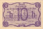 Austria, 10 Heller, FS 1142b