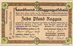 Germany, 10 Pfund Roggen, C014