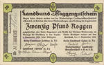 Germany, 20 Pfund Roggen, C014