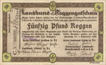 Germany, 50 Pfund Roggen, C014