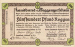 Germany, 500 Pfund Roggen, C014