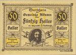 Austria, 50 Heller, FS 18IIb