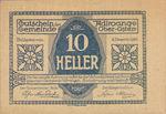 Austria, 10 Heller, FS 5ax